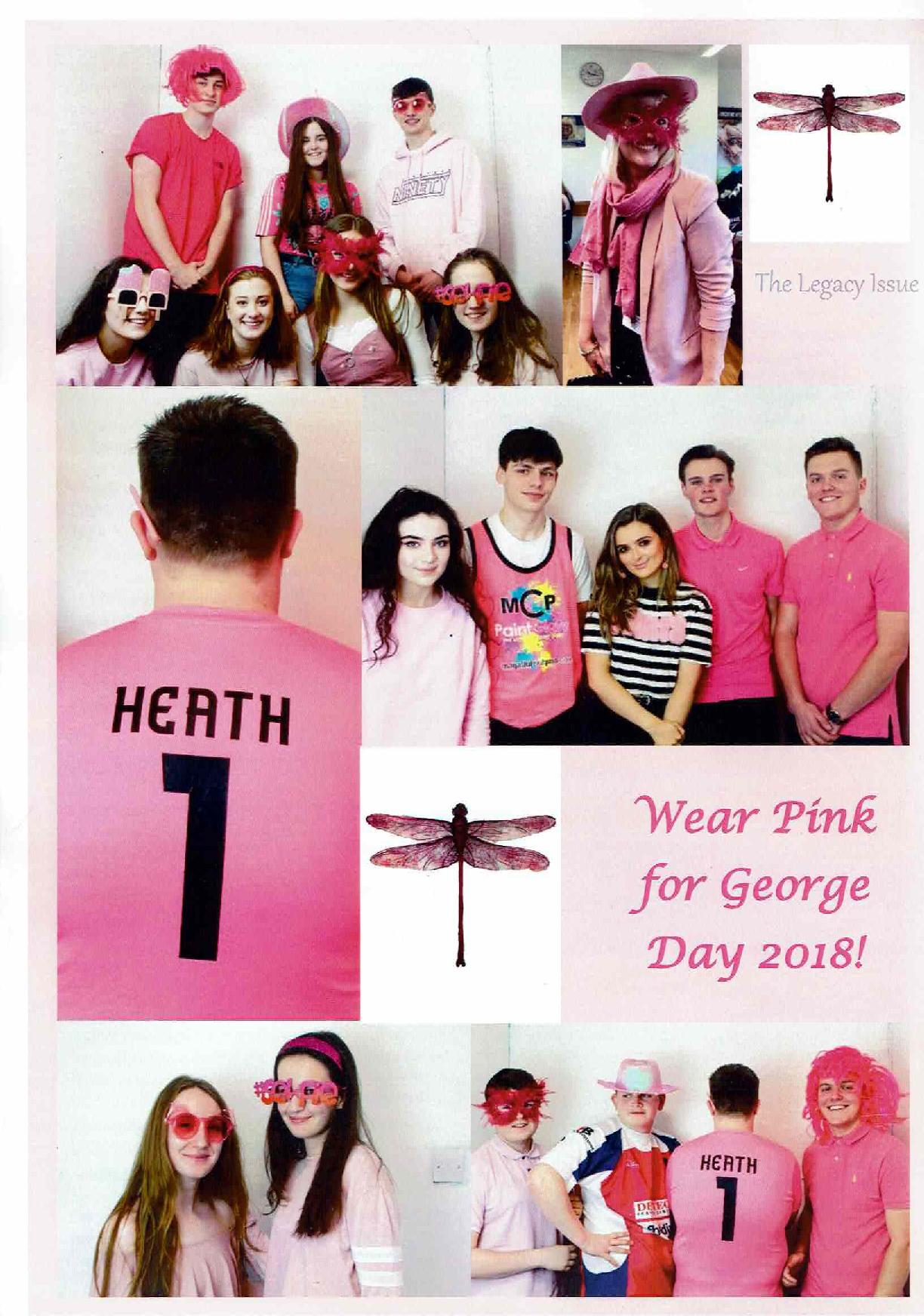 Wear Pink for George Day 2018