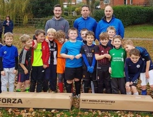 Allocation 23 – Tarporley Vics Junior Football Club Under 8s – Football Goals £200