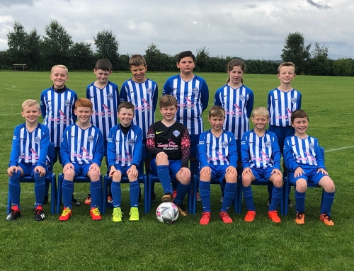 Allocation 29 – Tarvin Blues Under 11s kit £250